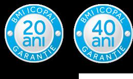 Garantie 40 ani BMI Icopal