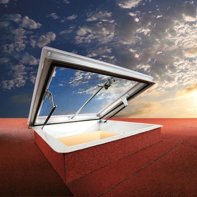 Trape de fum, trape acces acoperiș și luminatoare